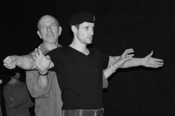 MacbethReboot_Rehearsals_MacbethFighting